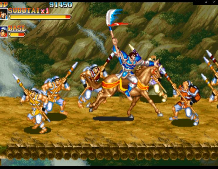 천지를 먹다2(삼국지,Warriors of Fate) 플레이 및 다운
