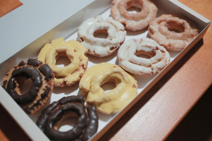 삼립 올드훼션드 도넛, 1+1 해서 샀지만...