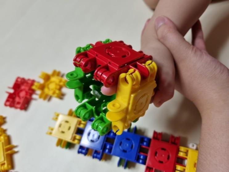 블럭장난감 창의력 쑥쑥 클릭포머스 사각블럭