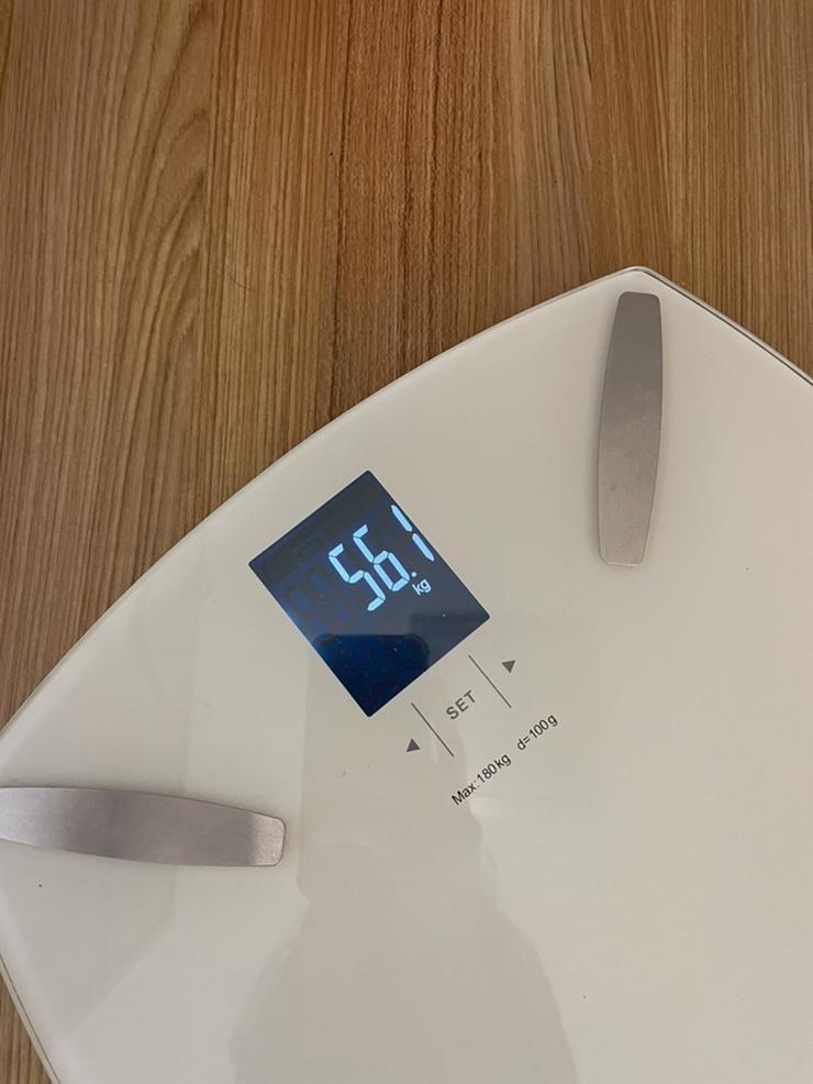 [체중기록] 키173 몸무게 56.1
