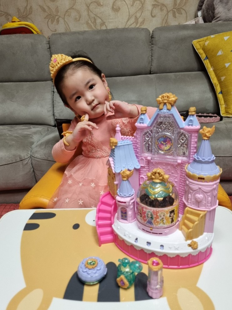 유아 장난감 시크릿쥬쥬 마법 보석의 성 공주의 4세 장난감
