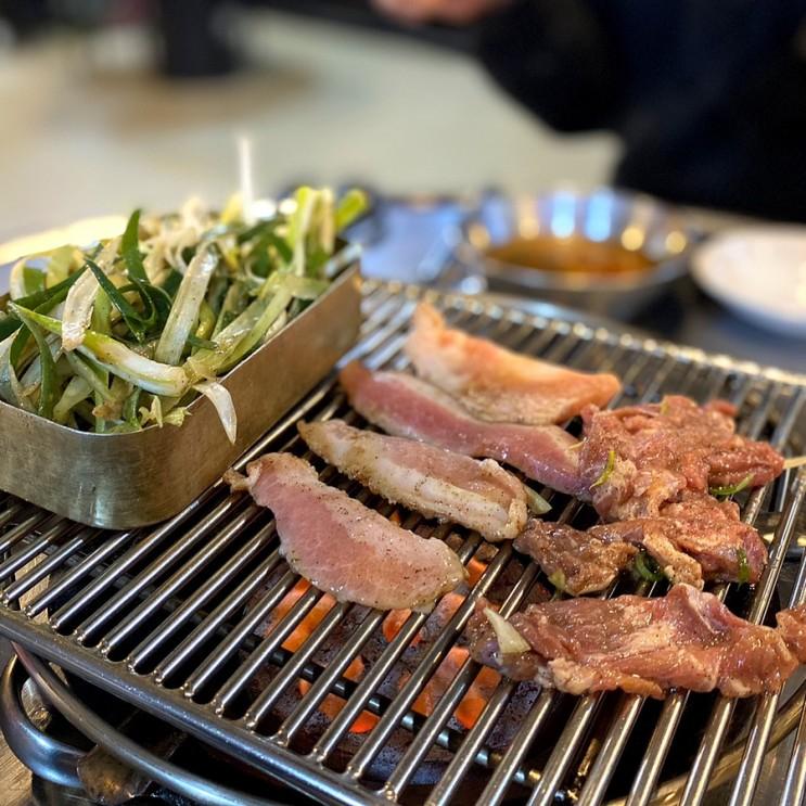 파주 봉일천 장군멍군 돼지 부속고기 특수부위 맛집