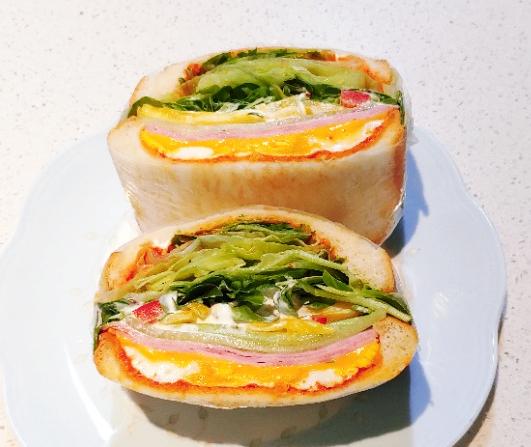 온라인 수업할때 영양 가득 매일 다른 간단한 아침밥 샌드위치