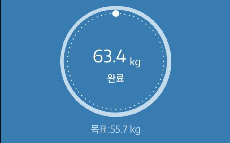 누베베 감비엑스 다이어트 식단 60일차