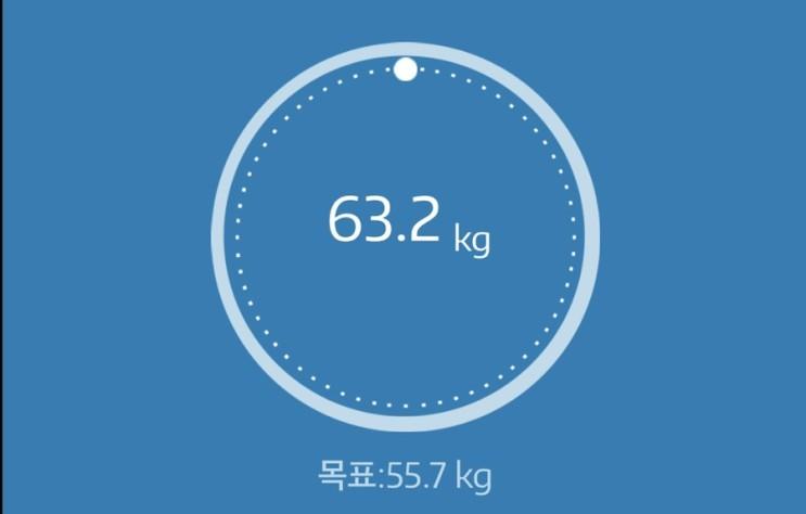 누베베 감비엑스 다이어트 식단 61일차