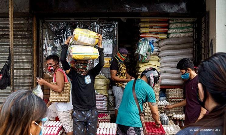 필리핀 코로나 확진자 일일 최고치 12,225명 발생