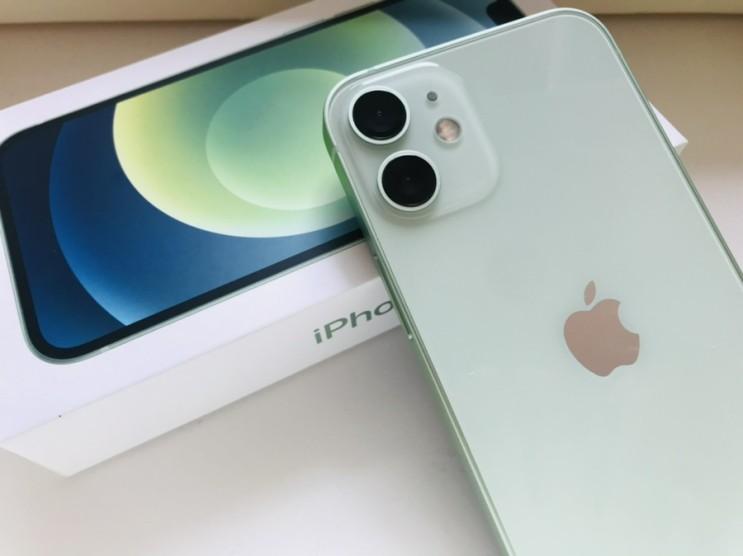 안산 핸드폰 성지? 10만원대에 아이폰12미니 쌈무그린 구매!