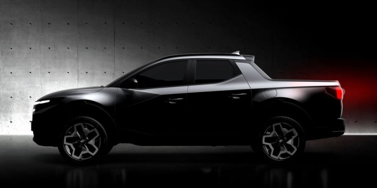 현대 자동차, 다가오는 산타 크루즈 어반 픽업 영상 공개