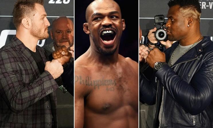 프랑시스 은가누: 존스가 미오치치보다 힘든 상대라고 생각 않아 등 MMA 뉴스