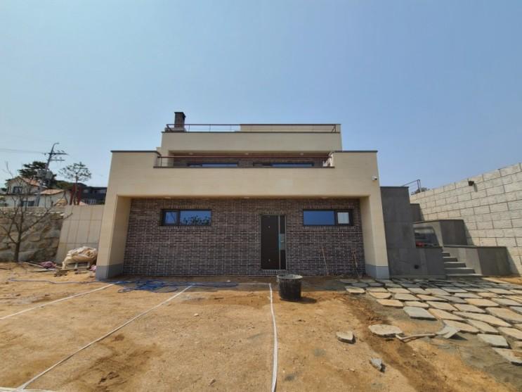 엔썸 시스템창호 - 고성군 용촌리 단독주택 마무리.