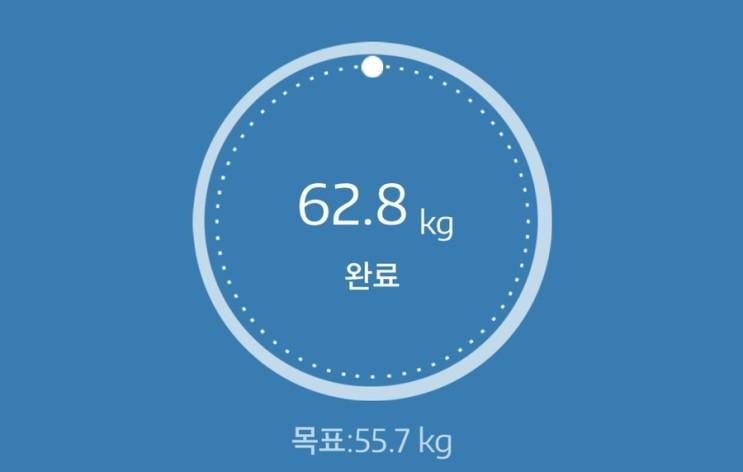 누베베 감비엑스 다이어트 식단 64일차