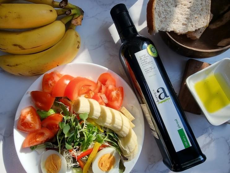 풍부한 토마토향과 목넘김이 부드러웠던 유기농올리브유 추천 <데오르테가스 유기농 엑스트라버진 올리브유>