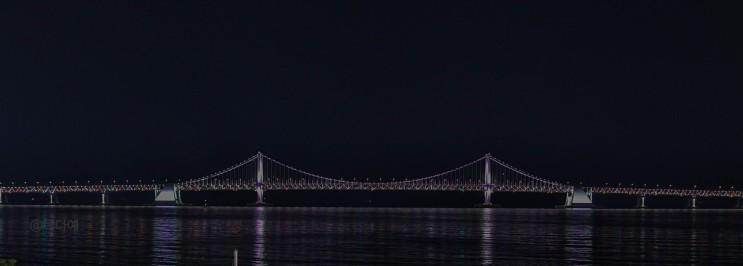 광안대교야경이 보이는 루프탑 카페오뜨 밤데이트
