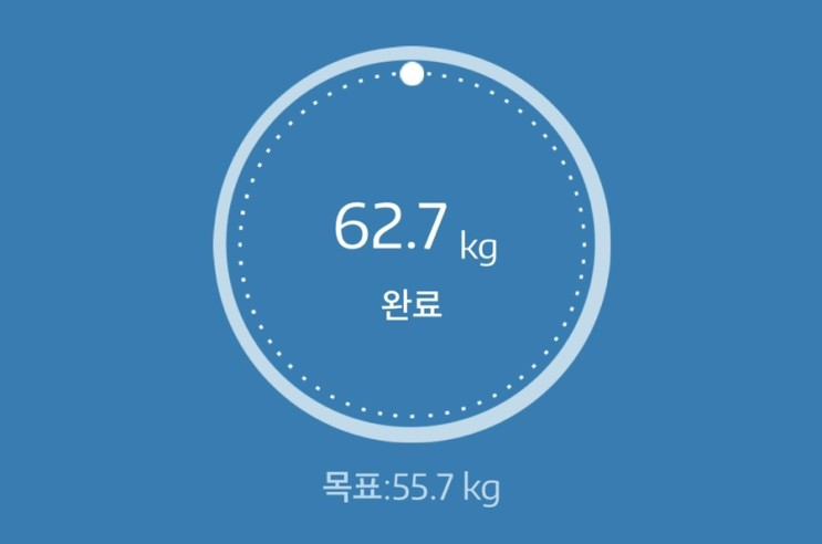 누베베 감비엑스 다이어트 식단 65일차