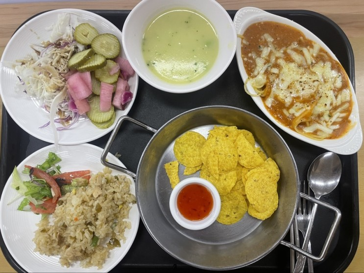 오늘의 구내식당 점심-26