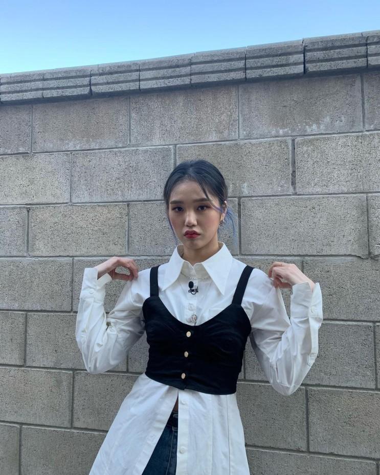 210414 오마이걸 미미 인스타그램