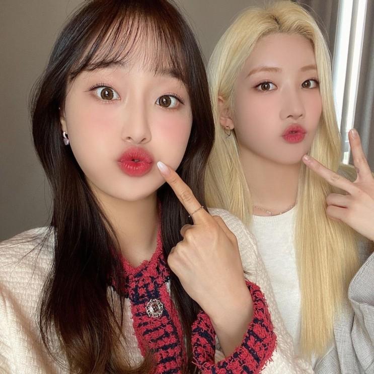 210413 이달의 소녀 인스타그램 ( 김립, 츄 )