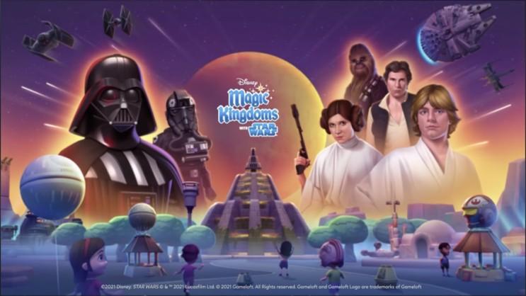 [디즈니매직킹덤]  Disney Magic Kingdoms : Update 49 Preview : StarWars 스타워즈 업데이트