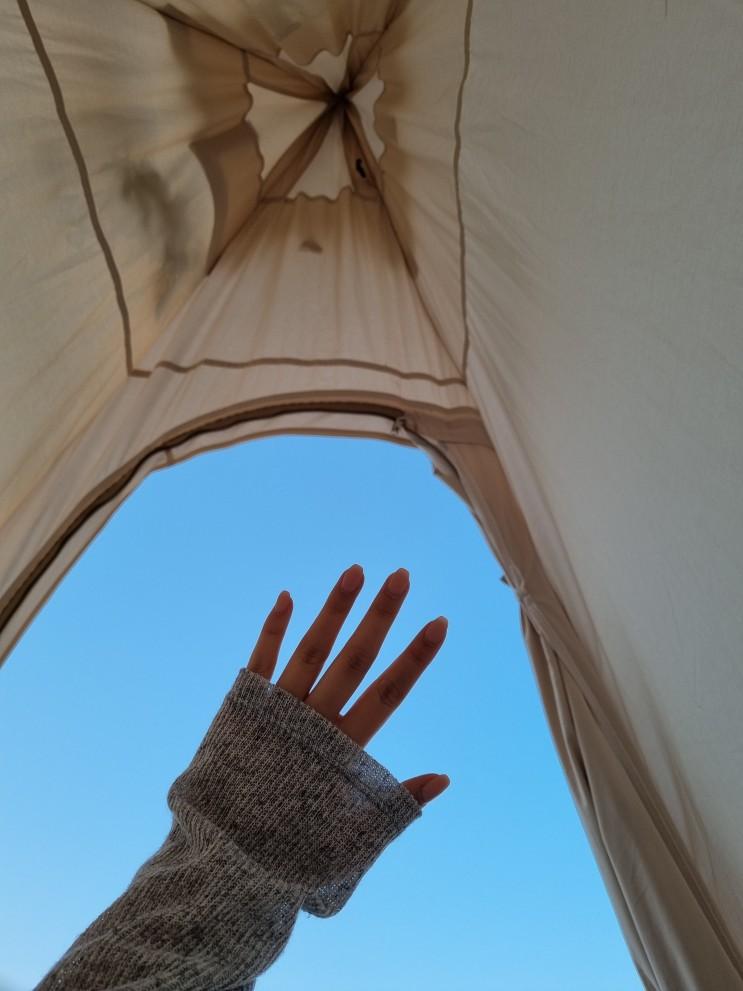 [강정보피크닉/강정보텐트] 텐트빌려서 피크닉 하기 좋은 날씨다 ヾ(≧ ▽ ≦)ゝ
