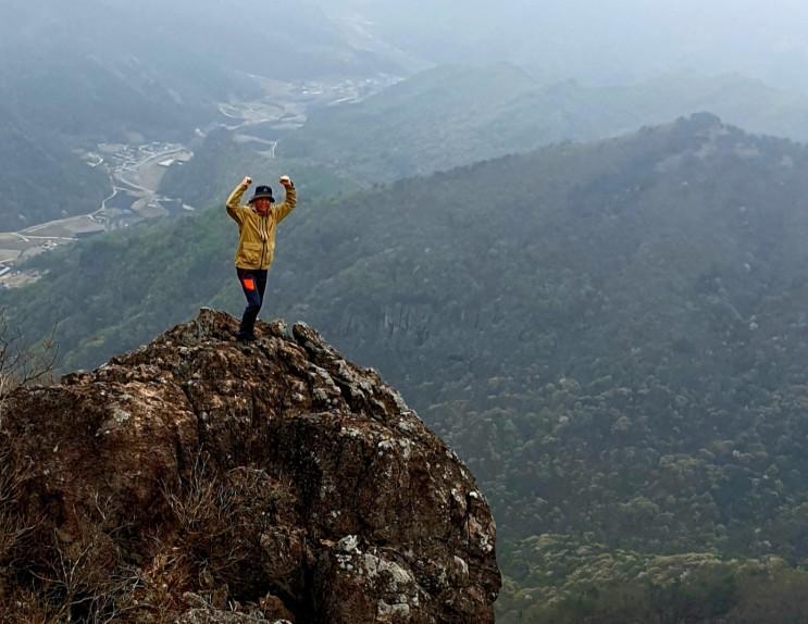호계리의 도다리쑥죽과 곰직이산~ 복두봉~ 구봉산 산행 그리고 이치전적지