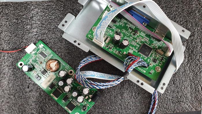 m27sl98h 어드밴스원 game plus 모니터 전원을 켜면 바로꺼짐