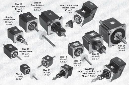 스텝모터(Step Motor) 정보 - 특징/특성/종류
