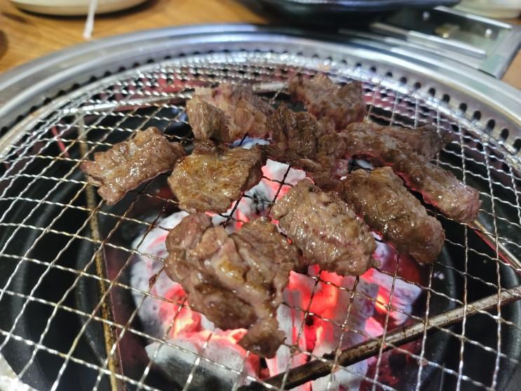 경원목장 성남 중원파출소 골목 갈비살 후기