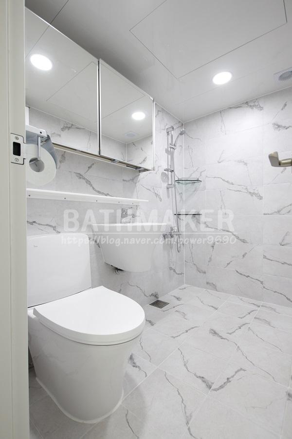 경기남부욕실인테리어 - 광주초월읍 롯데 낙천대 안방화장실, 욕실아울렛