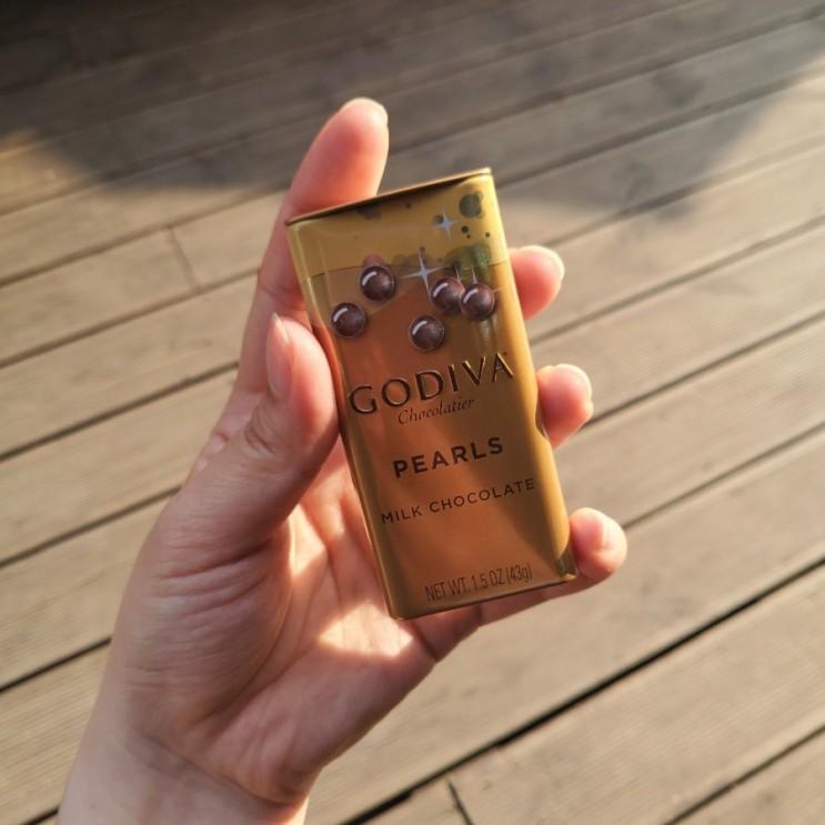 카카오톡 선물하기, 고디바 펄 초콜릿! 시험기간 선물로 딱 좋아