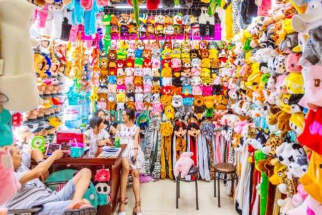중국광저우 의류도매시장, 잡화의 천국 이우义乌시장