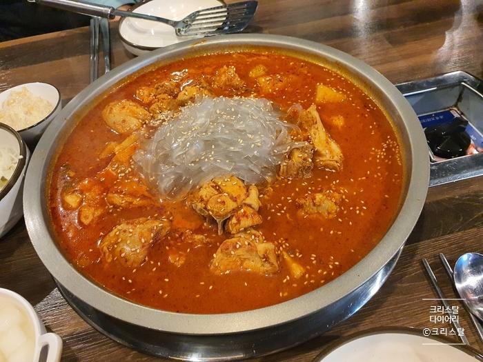 [부산 명지 맛집] 국제신도시 닭볶음탕 조선닭도리&찜닭 명지점