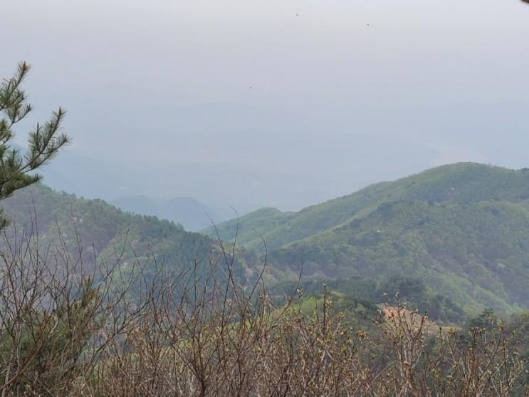 100대명산-70, 유명산 등산 코스(유명산자연휴양림~유명산~합수지점~유명계곡~원점)