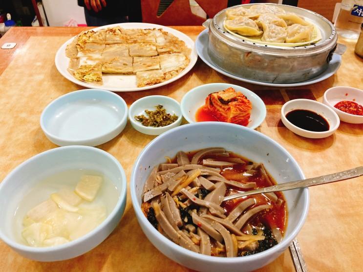 정릉 맛집 봉화묵집 준당뇨인에도 부담없는 메밀음식들