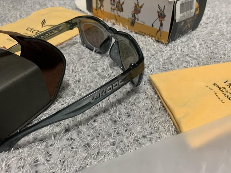 낚시인 필수템/ 편광 브이쿨(V-KOOL)선글라스, 낚시 선글라스 추천, 낚시 월척하세요 !
