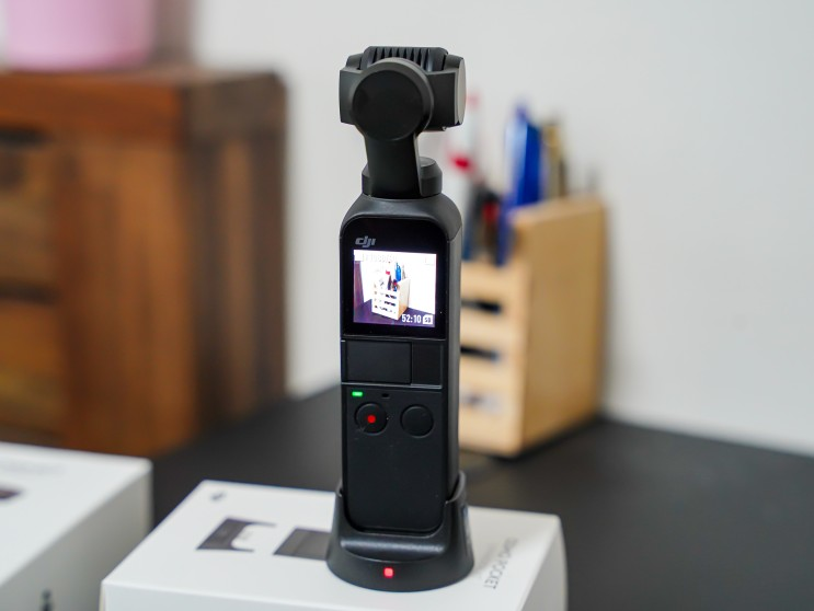 DJI 오즈모 포켓 브이로그 카메라 언박싱 및 할인 정보