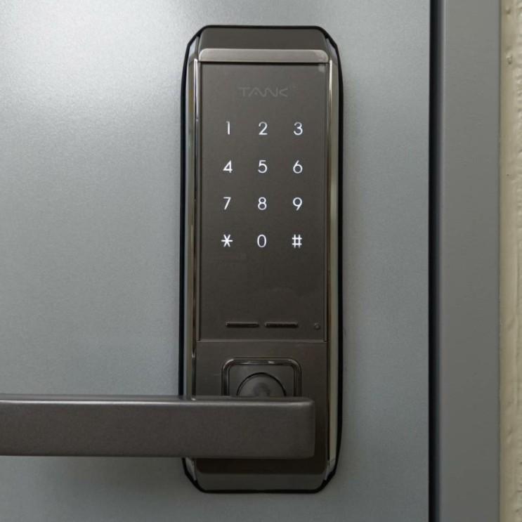 비밀번호전용 도어락 설치 우두천년나무3단지 내구성좋은 제품 선별에서 설치,A/S까지 친절열쇠도어락