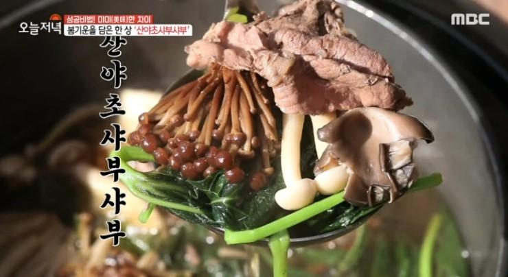 [생방송 오늘 저녁] 보양식 산야초 샤부샤부 '솔내음' [주소, 위치, 가격, 맛정보, 방송 동영상]