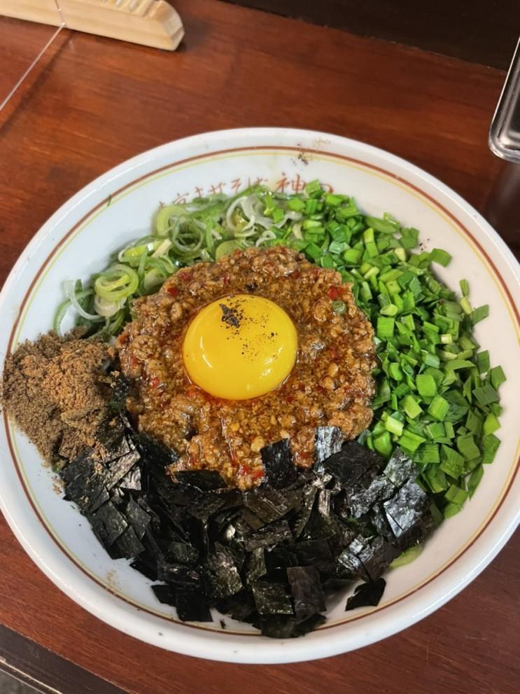 [대학로맛집] 대학로혼밥 마제소바 돈코츠라멘 하면 이곳 - 칸다소바