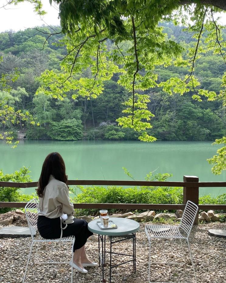 대전근교 공주 신상카페 : 카페로 재오픈한 뷰맛집 엔학고레 솔직후기 ♥