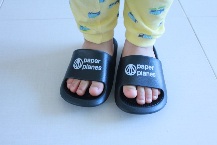페이퍼플레인키즈 유아 층간소음 슬리퍼로 고민 해결