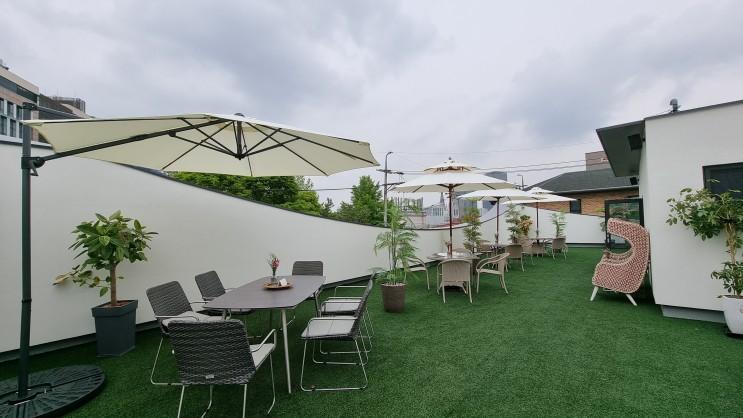 강남 테라스 브런치 카페, 와인 레스토랑 보스켓 방문 후기
