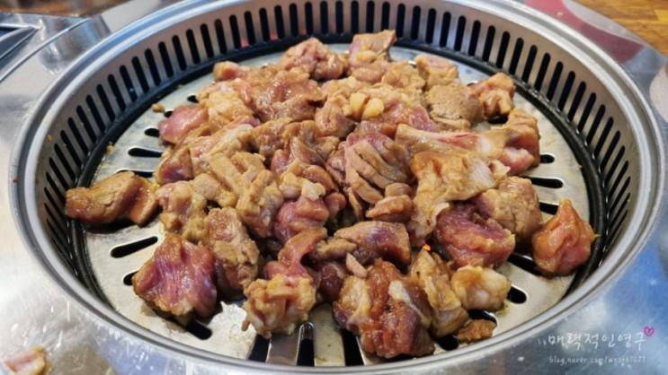 순흥골 _ 스테이크형 돼지갈비가 맛있는 신풍역 맛집