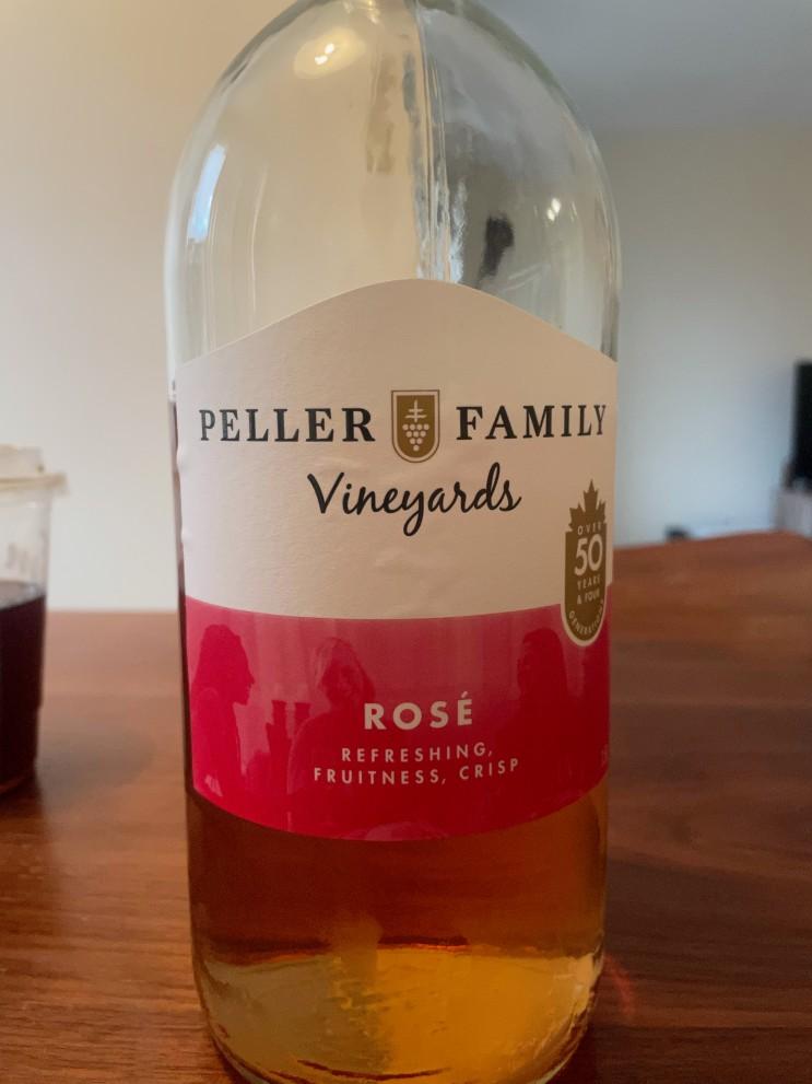 캐나다 Peller Family Vineyards 로제 와인
