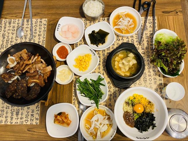<경주 맛집> 서민식당 숯불갈비, 새우 간장밥