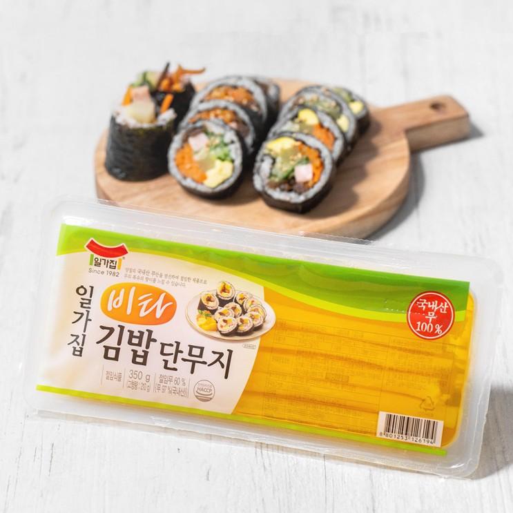 인기있는 일가집 비타 김밥단무지, 350g, 1개 추천합니다