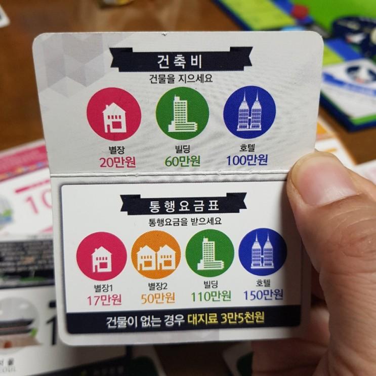 어린이날 보드게임 부루마불 - 토지는 개발해야 하는구나!!