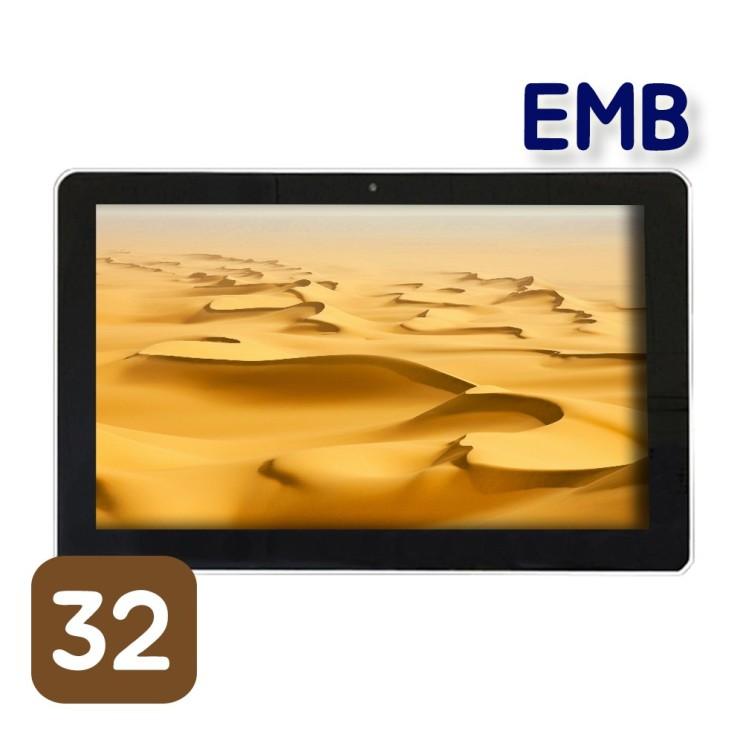 가성비 뛰어난 이엠비 32인치 안드로이드 태블릿 대형 대화면 가성비 헬스장 휘트니스, black, KSTAR-3200 ···