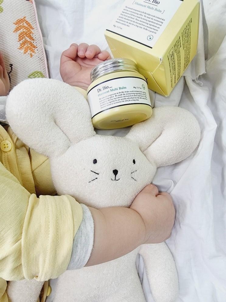아기부터 온가족이 사용할 수 있는 패밀리밤 멀티밤 닥터바이오 고보습크림