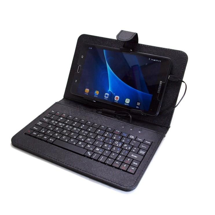 잘팔리는 태블릿 유선 키보드 태블릿 케이스 BZ-TK8, 블랙 좋아요