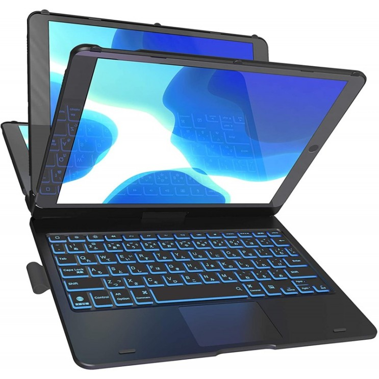 가성비 뛰어난 일본배송 Cooper Cases Flex Book Ittou터치 패드자 키보드 경우[iPad 10.2 제8세대/ 제7세대/Air3/Pro 1, 1 좋아요